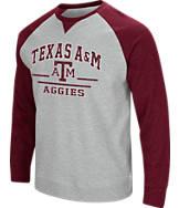Men's Stadium Texas A&M Aggies College Turf Fleece Crew Sweatshirt