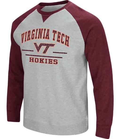 Men's Stadium Virginia Tech Hokies College Turf Fleece Crew Sweatshirt