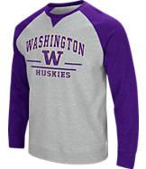 Men's Stadium Washington Huskies College Turf Fleece Crew Sweatshirt