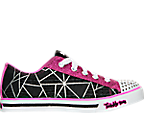 Girls' Preschool Skechers Twinkle Toes: Sparkle Glitz Casual Shoes