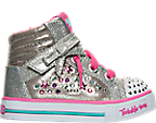 Girls' Toddler Skechers Twinkle Toes: Sparkle Glitz Casual Shoes
