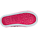 Bottom view of Girls' Toddler Twinkle Toes: Shuffles - Sparkle Casual Shoes in White/Pink