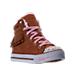Three Quarter view of Girls' Preschool Skechers Twinkle Toes: Shuffles - Fringe Fabulous Casual Shoes in Chestnut