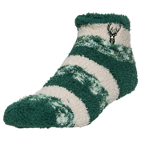 For Bare Feet Milwaukee Bucks NBA Sleep Soft RMC Pro Stripe Socks
