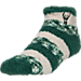 Front view of For Bare Feet Milwaukee Bucks NBA Sleep Soft RMC Pro Stripe Socks in Team Colors