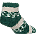 Back view of For Bare Feet Milwaukee Bucks NBA Sleep Soft RMC Pro Stripe Socks in Team Colors