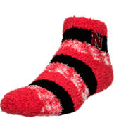 For Bare Feet Nebraska Cornhuskers College Sleep Soft RMC Pro Stripe Socks