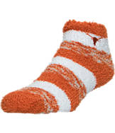 For Bare Feet Texas Longhorns College Sleep Soft RMC Pro Stripe Socks