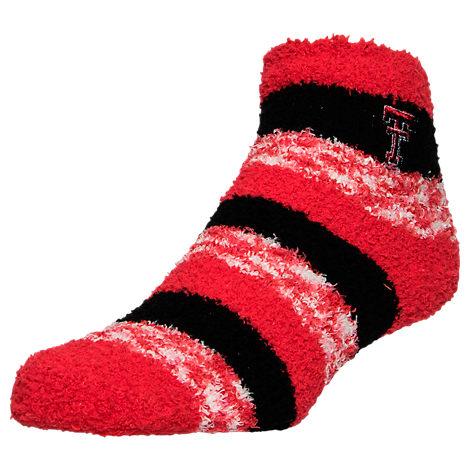 For Bare Feet Texas Tech Red Raiders College Sleep Soft RMC Pro Stripe Socks