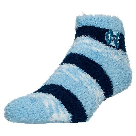 For Bare Feet North Carolina Tar Heels College Sleep Soft RMC Pro Stripe Socks