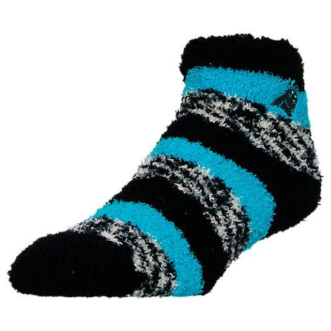 For Bare Feet Carolina Panthers NFL Sleep Soft RMC Pro Stripe Socks