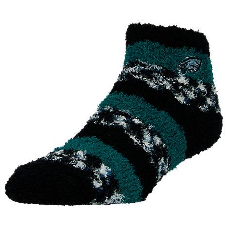 For Bare Feet Philadelphia Eagles NFL Sleep Soft RMC Pro Stripe Socks