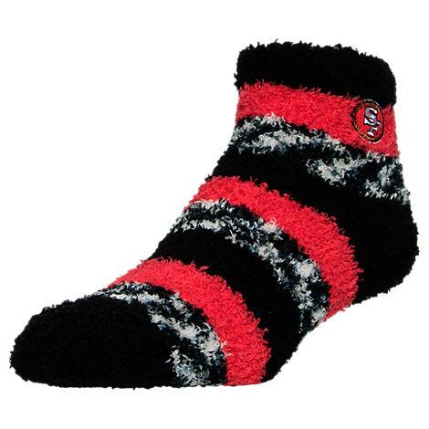 For Bare Feet San Francisco 49ers NFL Sleep Soft RMC Pro Stripe Socks