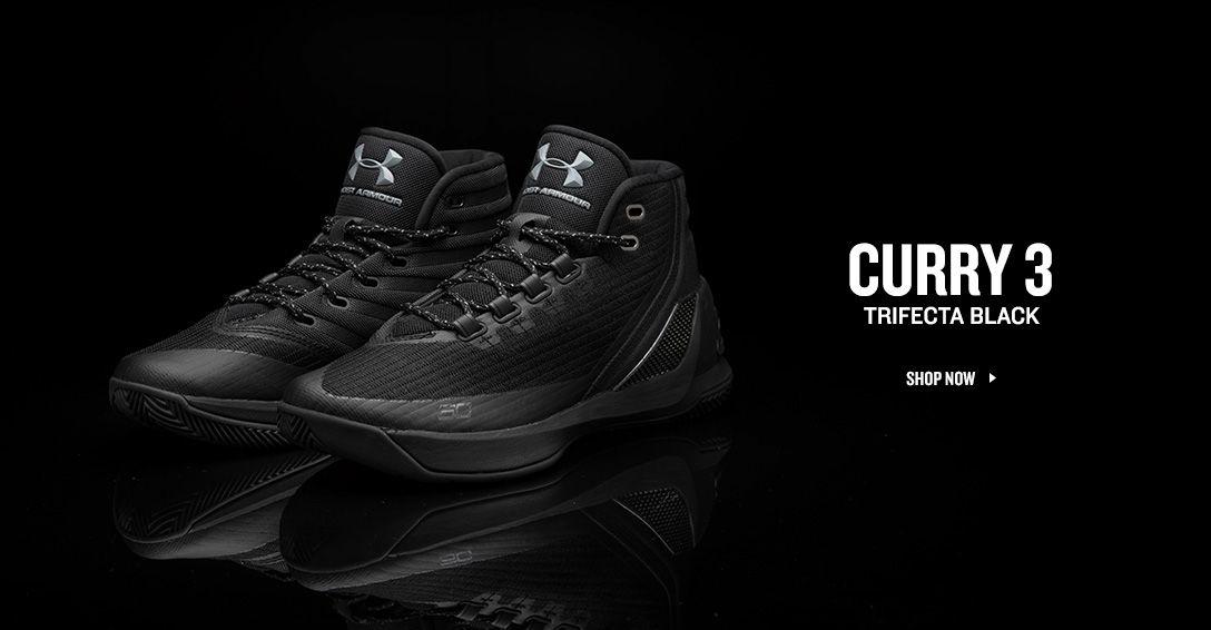 Curry 3 Trifecta Black.