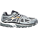 Right view of Men's Brooks Beast Wide Width 4E Running Shoes in Light Grey/Dark Grey/Black