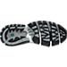 Bottom view of Men's Brooks Beast Wide Width 4E Running Shoes in Light Grey/Dark Grey/Black