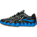Left view of Men's Brooks Neuro Running Shoes in Black/Blue/Lime