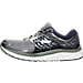 Left view of Men's Brooks Glycerin 14 Running Shoes in Primer Grey/Peacoat Navy/Silver