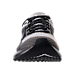 Front view of Men's Brooks Levitate Running Shoes in White/Black/Grey