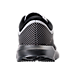 Back view of Men's Brooks Levitate Running Shoes in White/Black/Grey