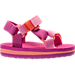 Right view of Girls' Toddler Teva Universal Sandals in Pink/Orange