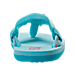 Back view of Girls' Toddler Teva Mush II Flip-Flop Athletic Sandals in Turquoise Flamingo