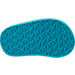 Bottom view of Girls' Toddler Teva Mush II Flip-Flop Athletic Sandals in Turquoise Flamingo