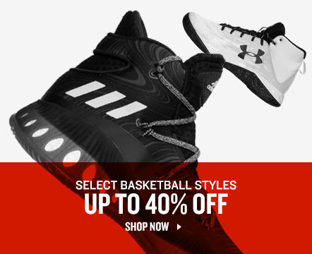 Select Basketball Shoes Up to 40% Off