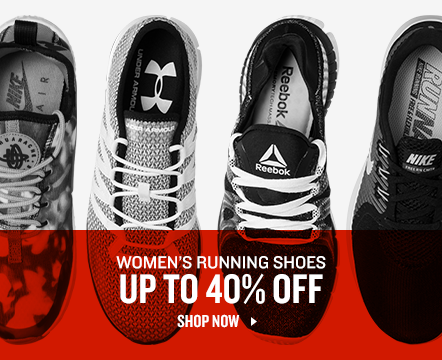 Women's Running Shoes up to 40% Off.