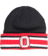 J. America Ohio State University College Flipped Ribbed Cuff Knit Hat
