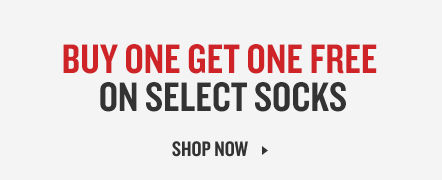 Buy One Get One Free On Select Socks. Shop The Deal.