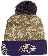 New Era Baltimore Ravens NFL Salute To Service Knit Hat