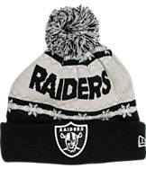 New Era Oakland Raiders NFL Ugly Sweater Knit Hat