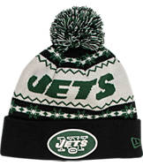New Era New York Jets NFL Ugly Sweater Knit Hat
