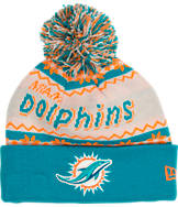 New Era Miami Dolphins NFL Ugly Sweater Knit Hat