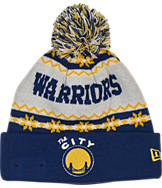 New Era Golden State Warriors NBA Ugly Sweater Knit Hat