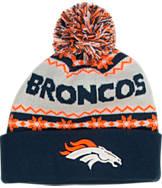 New Era Denver Broncos NFL Ugly Sweater Knit Hat