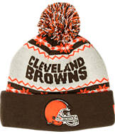 New Era Cleveland Browns NFL Ugly Sweater Knit Hat