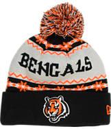 New Era Cincinnati Bengals NFL Ugly Sweater Knit Hat