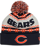 New Era Chicago Bears NFL Ugly Sweater Knit Hat