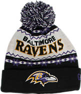 New Era Baltimore Ravens NFL Ugly Sweater Knit Hat