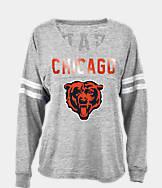 Women's New Era Chicago Bears NFL Slub V-Neck T-Shirt