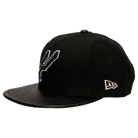 New Era San Antonio Spurs NBA Pattern Perforated Snapback Hat