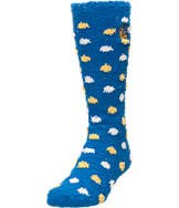 Women's For Bare Feet Golden State Warriors NBA Polka Dot Sleepsoft Socks