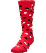 Women's For Bare Feet Houston Rockets NBA Polka Dot Sleepsoft Socks