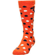 Women's For Bare Feet Illinois Fighting Illini College Polka Dot Sleepsoft Socks