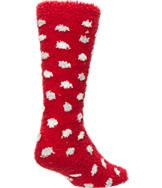 Women's For Bare Feet Oklahoma Sooners College Polka Dot Sleepsoft Socks