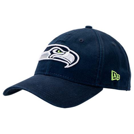 New Era Seattle Seahawks NFL Core Classic 9Twenty Adjustable Back Hat