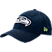 Front view of New Era Seattle Seahawks NFL Core Classic 9Twenty Adjustable Back Hat in Team Colors