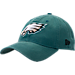 Front view of New Era Philadelphia Eagles NFL Core Classic 9Twenty Adjustable Back Hat in Team Colors